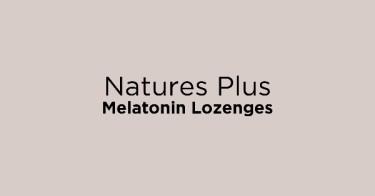 Natures Plus Melatonin Lozenges