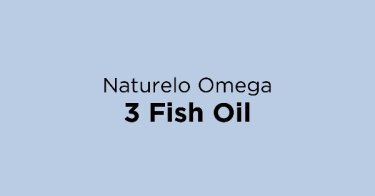 Naturelo Omega 3 Fish Oil