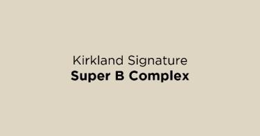 Kirkland Signature Super B Complex