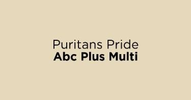 Puritans Pride Abc Plus Multi