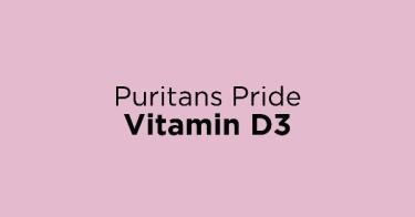 Puritans Pride Vitamin D3