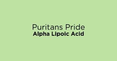 Puritans Pride Alpha Lipoic Acid
