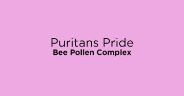 Puritans Pride Bee Pollen Complex