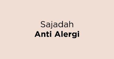 Sajadah Anti Alergi