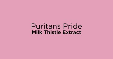 Puritans Pride Milk Thistle Extract