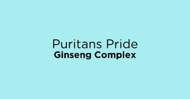 Puritans Pride Ginseng Complex