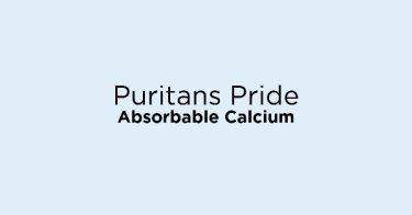 Puritans Pride Absorbable Calcium