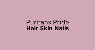 Puritans Pride Hair Skin Nails