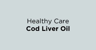 Healthy Care Cod Liver Oil