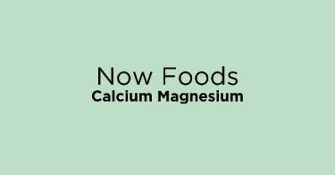 Now Foods Calcium Magnesium