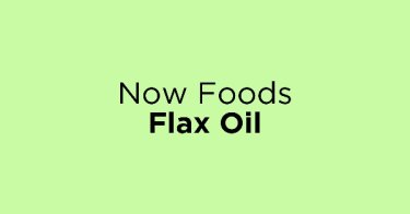 Now Foods Flax Oil
