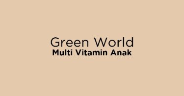 Green World Multi Vitamin Anak