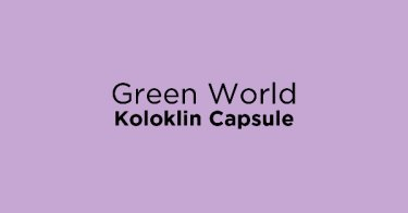Green World Koloklin Capsule