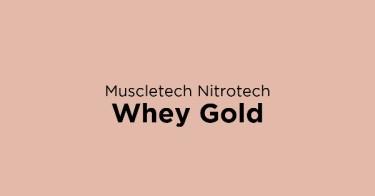 Muscletech Nitrotech Whey Gold DKI Jakarta
