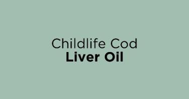 Childlife Cod Liver Oil