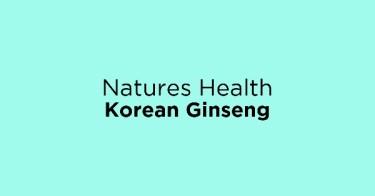 Natures Health Korean Ginseng