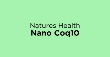 Natures Health Nano Coq10