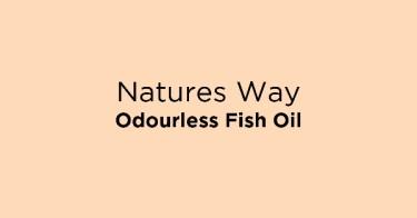 Natures Way Odourless Fish Oil
