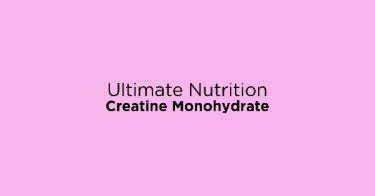 Ultimate Nutrition Creatine Monohydrate DKI Jakarta
