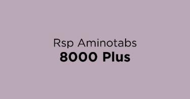 Rsp Aminotabs 8000 Plus