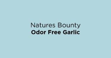 Natures Bounty Odor Free Garlic