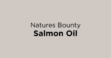 Natures Bounty Salmon Oil