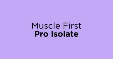 Muscle First Pro Isolate