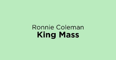 Ronnie Coleman King Mass