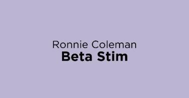 Ronnie Coleman Beta Stim