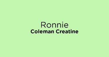 Ronnie Coleman Creatine