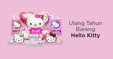 Perlengkapan Ulang Tahun Hello Kitty Jakarta Timur