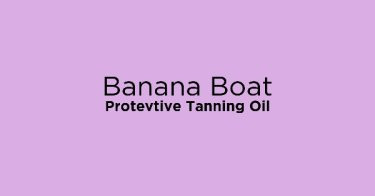 Banana Boat Protevtive Tanning Oil