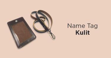 Name Tag Kulit