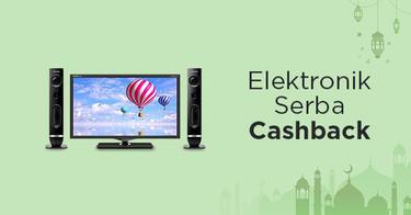 Spesial Cashback Elektronik
