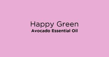 Happy Green Avocado Essential Oil
