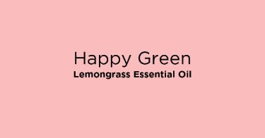 Happy Green Lemongrass Essential Oil