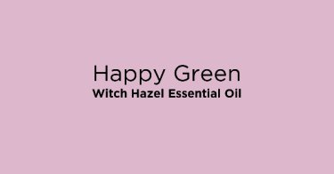 Happy Green Witch Hazel Essential Oil