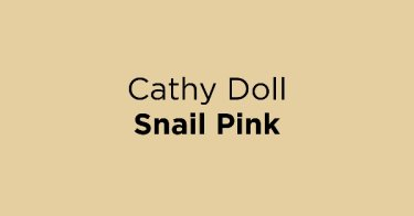 Cathy Doll Snail Pink