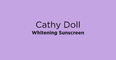 Cathy Doll Whitening Sunscreen