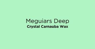 Meguiars Deep Crystal Carnauba Wax