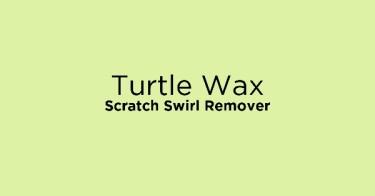 Turtle Wax Scratch Swirl Remover