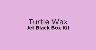 Turtle Wax Jet Black Box Kit