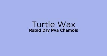Turtle Wax Rapid Dry Pva Chamois