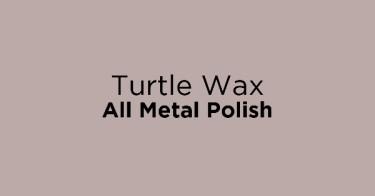 Turtle Wax All Metal Polish
