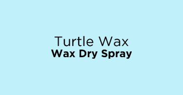 Turtle Wax Wax Dry Spray