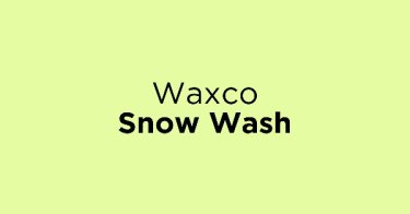 Waxco Snow Wash