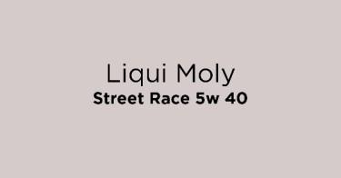 Liqui Moly Street Race 5w 40