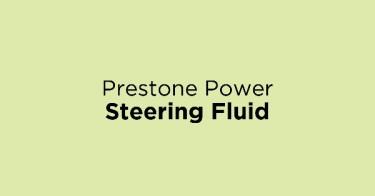 Prestone Power Steering Fluid
