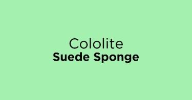 Cololite Suede Sponge