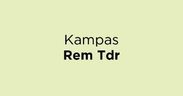 Kampas Rem Tdr
